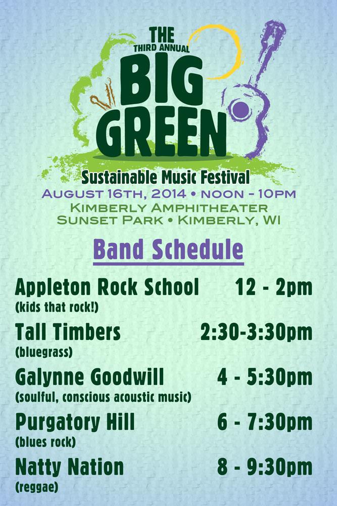 TBG 2014 Schedule