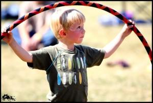 Hula hoop Kid